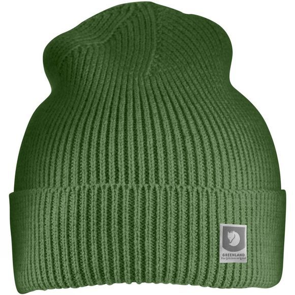 Fjallraven Mens Greenland Cotton Beanie Fern