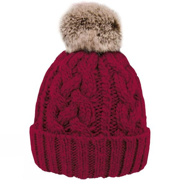 Extremities Mens Donegal Beanie Red Wine