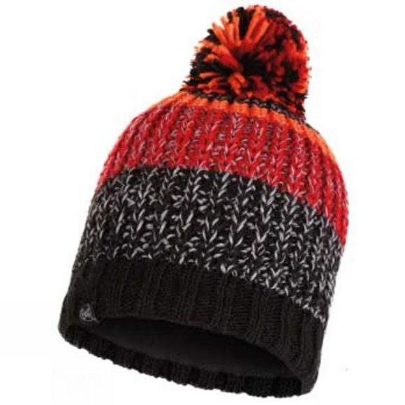 Buff Mens Stig Knitted Hat Black