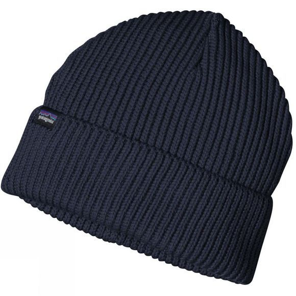 Patagonia Mens Fisherman's Rolled Beanie Navy Blue