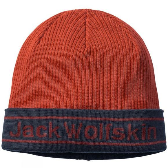 Jack Wolfskin Mens Pride Knit Cap Mexican Pepper