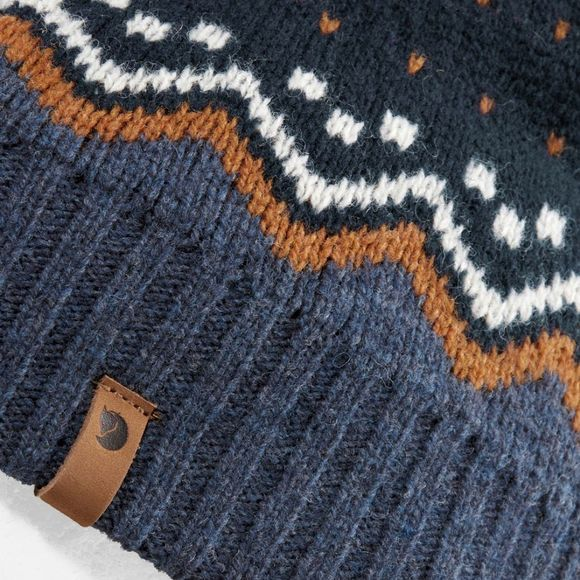 Fjallraven Ovik Knit Hat Dark Navy