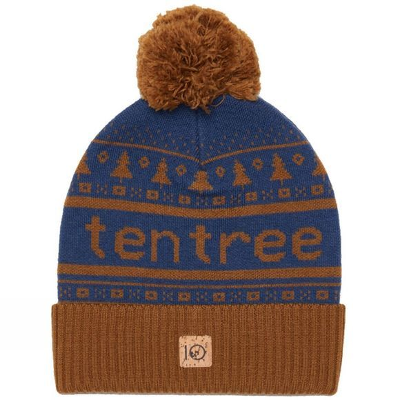 Tentree Cabin Pom Beanie Rubber Brown