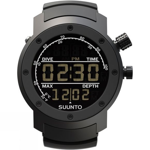 Suunto Elementum Aqua Watch Black/Negative Display/Black Rubber