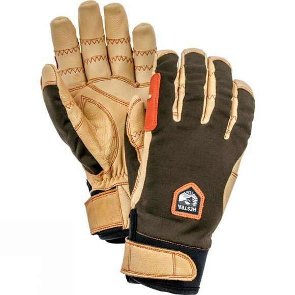 Hestra Ergo Grip Active Glove Green/Tan