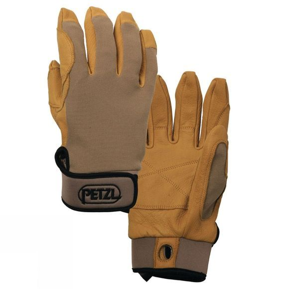 Petzl Cordex Leather Glove Brown