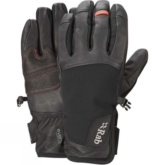 Rab Mens Guide Short Gloves Black