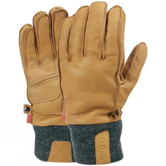 Rab Mens Treeline Gloves Tan