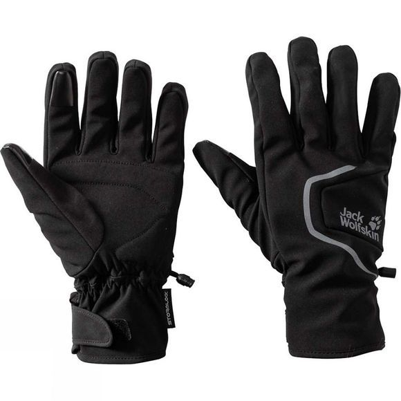 Jack Wolfskin Stormlock Gloves Black