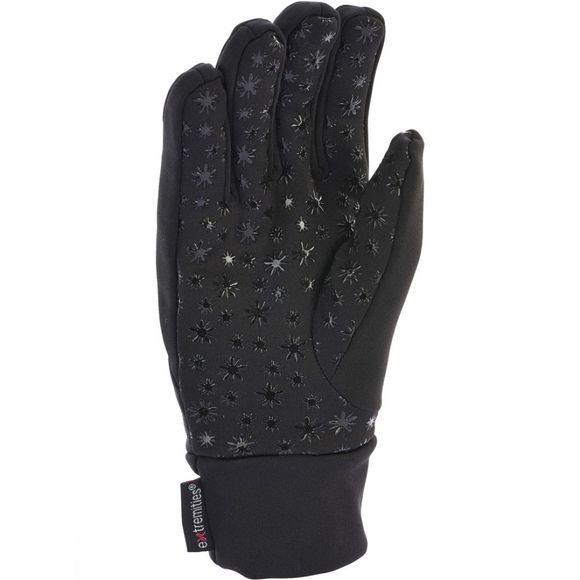 Extremities Mens Super Thicky Gloves Black