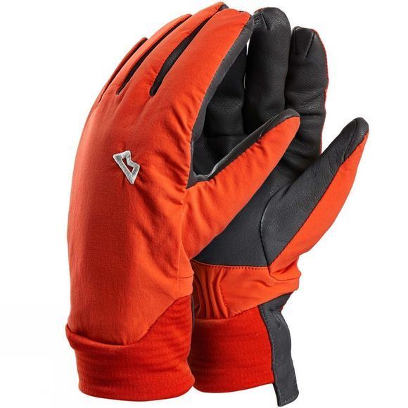 Mountain Equipment Mens Tour Gloves Cardinal Orange