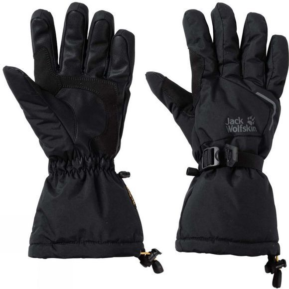 Jack Wolfskin Mens Texapore ExoLight Gloves Black