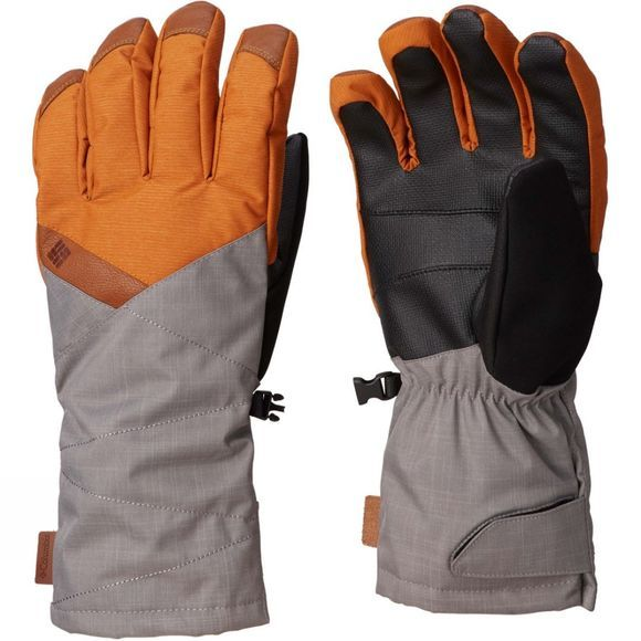Columbia Mens  St. Anthony Glove Bright Copper Xdye/ Boulder Mg