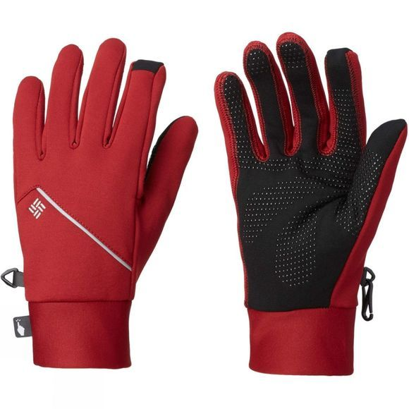 Columbia Mens Trail Summit Running Glove Red Element