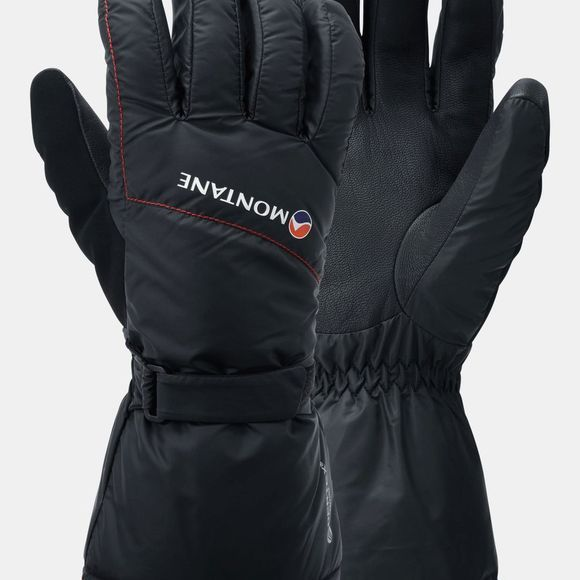 Montane Mens Extreame Glove Black/Alpine Red