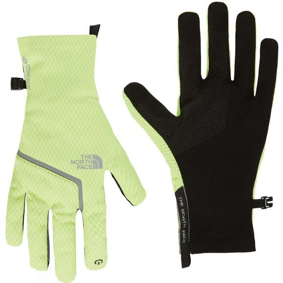 The North Face Mens Gore-Tex Infinium Closefit Tricot Glove Bright Yellow