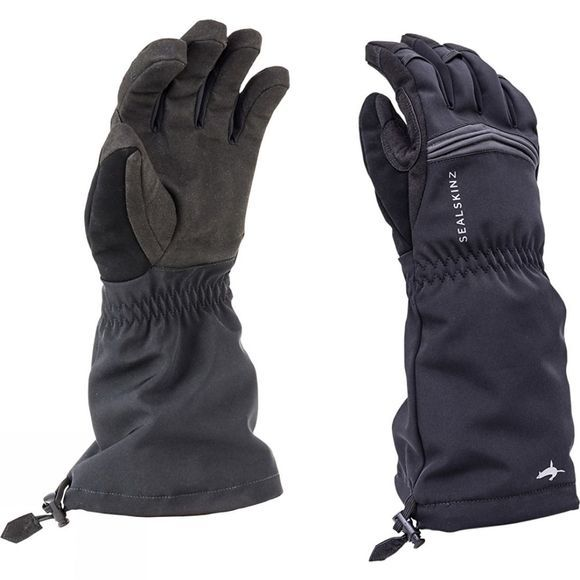 SealSkinz Reflective Extreme Cold Weather Gauntlets Black