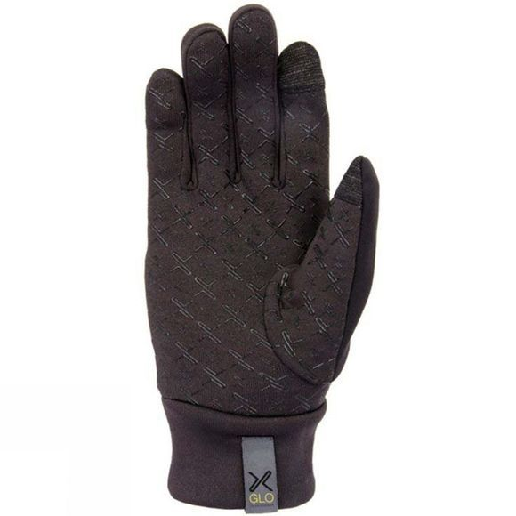 Extremities Mens Maze Runner Reflective Glove Black
