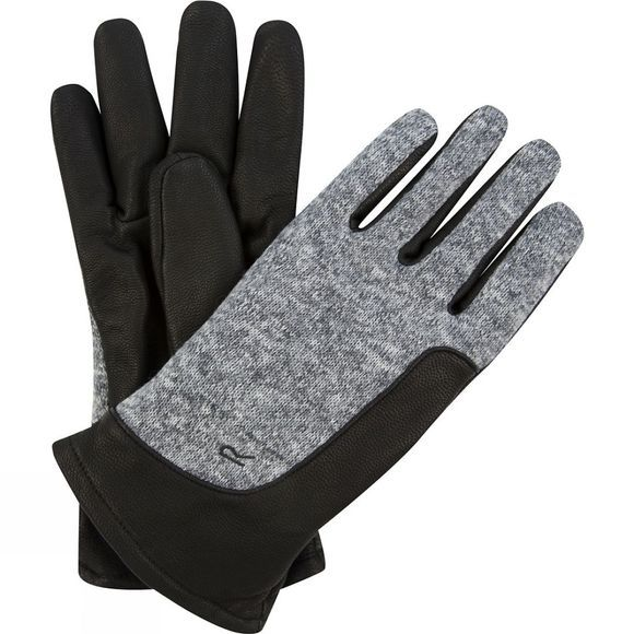 Regatta Mens Gerson Glove Black/Dust