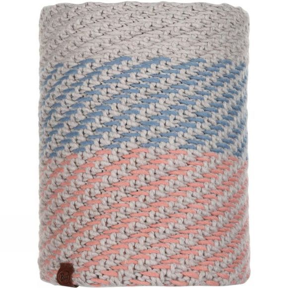 Buff Nella Knitted and Polar Fleece Buff Multi