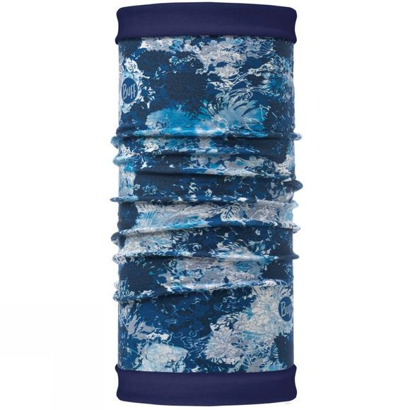 Buff Mens Reversible Polar Buff Winter Garden Blue/ Navy