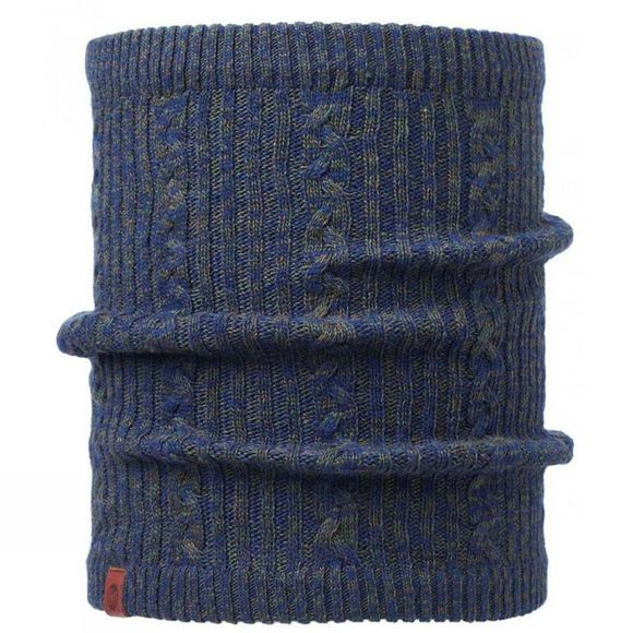 Braidy Knitted & Polar Fleece Neckwarmer