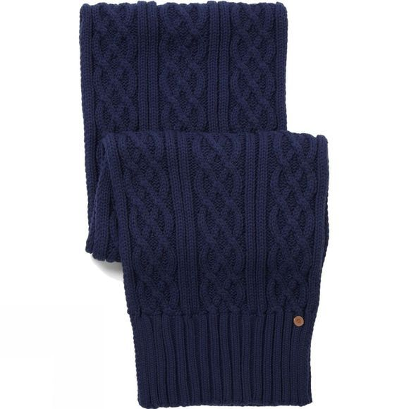 Craghoppers Mens Dolan Knit Scarf Night Blue