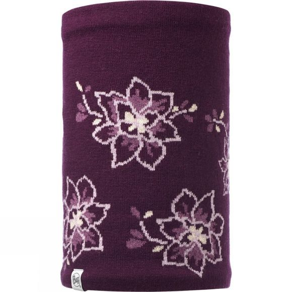 Buff Allie Knitted Neckwarmer Purple Dewberry