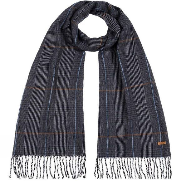 Nordbron Mens Preston Scarf Blue Ruled