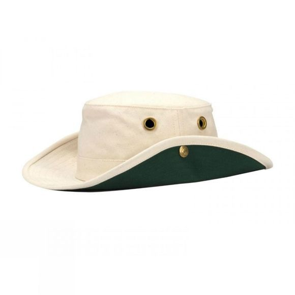 Tilley T3 Cotton Duck Hat Natural/Forest Green