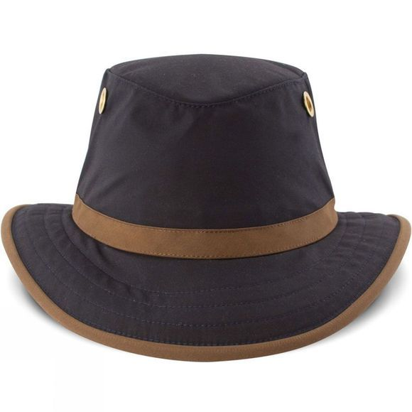 Tilley TWC7 Outback Hat Navy/British Tan Trim