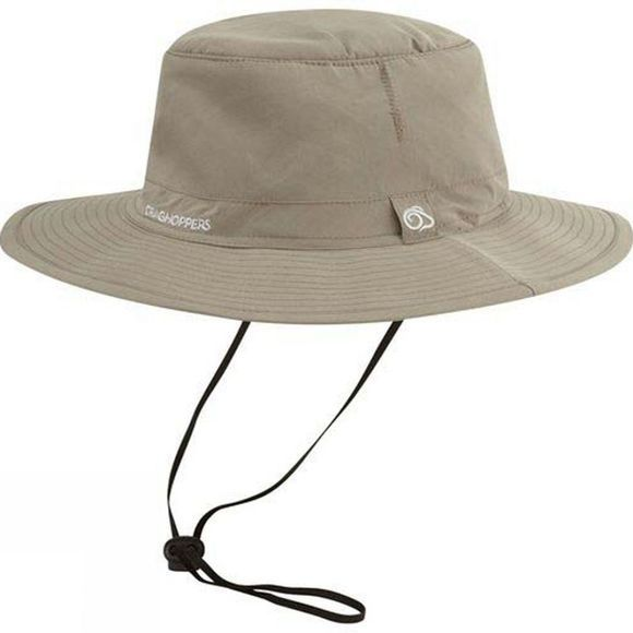 Craghoppers Mens Nosilife Outback Hat Pebble