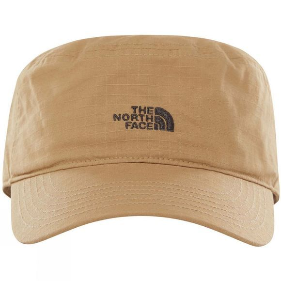 The North Face Mens Logo Military Hat Kelp Tan