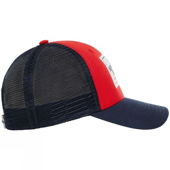The North Face Mens Mudder Trucker Hat TNF Red/Urban Navy