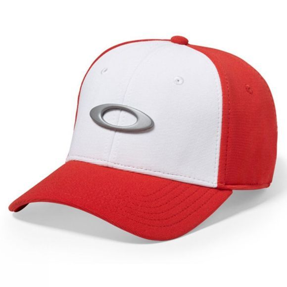 Oakley Tincan Hat White/Red