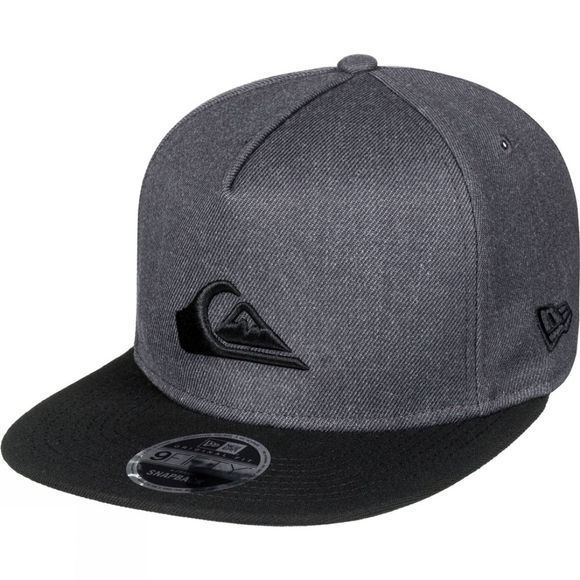 Quiksilver Mens Stuckles Snapback Hat CHARCOAL HEATHER