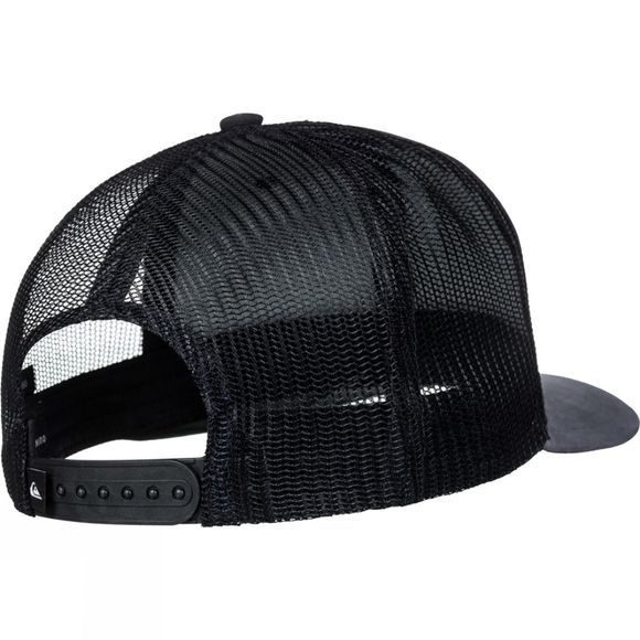 Quiksilver Mens Blocked Out Trucker Hat Black