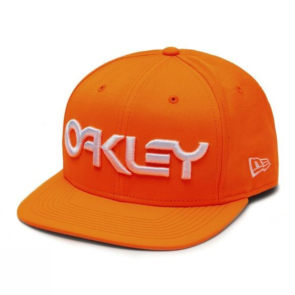 Oakley Mark II Novelty Snap Back Cap Neon Orange