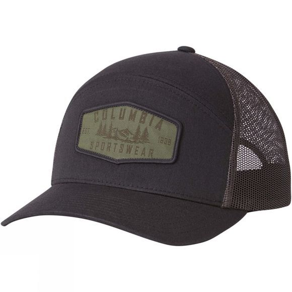 Columbia Mens Trail Evolution Snap Back Cap Shark Hex Patch