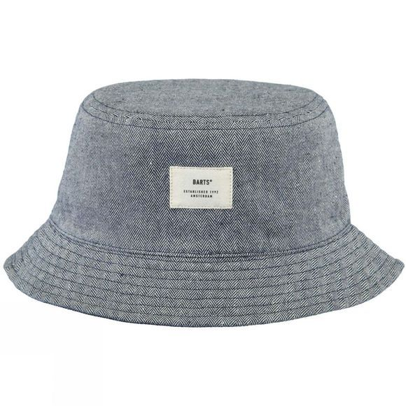 Barts Mens Magos Hat Stripe Blue