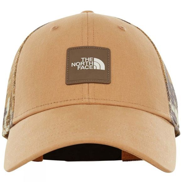 The North Face Mens Mudder Novelty Mesh Trucker Hat Moab Khaki Woodchip Camo Desert Print