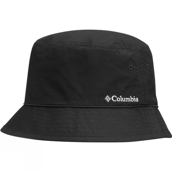 Columbia Pine Mountain Bucket Hat Black, Solid