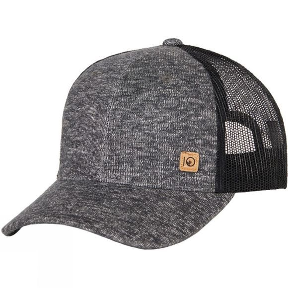 Tentree Elevation Hat Meteorite Black Marled-Small Cork Patch