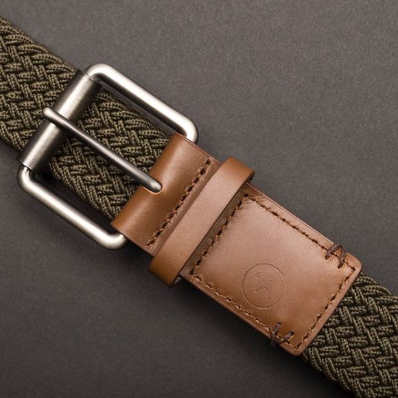 Arcade The Hudson Belt Olive Green