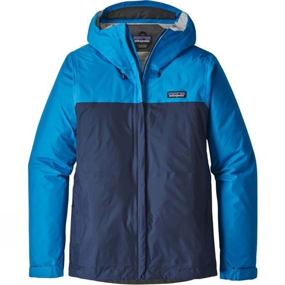 Patagonia Womens Torrentshell Jacket Lapiz Blue/ Navy Blue