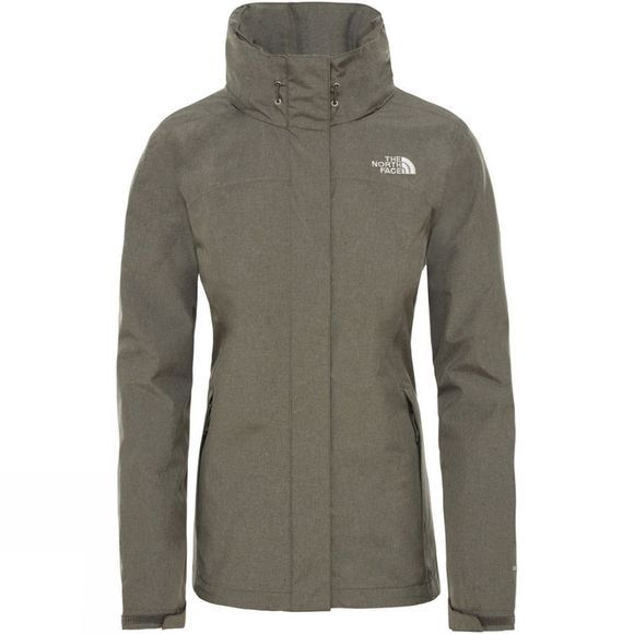 The North Face Womens Sangro Jacket New Taupe Green Heather