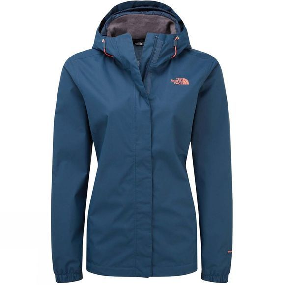 The North Face Womens Paradiso Jacket Blue Wing Teal/Spiced Coral