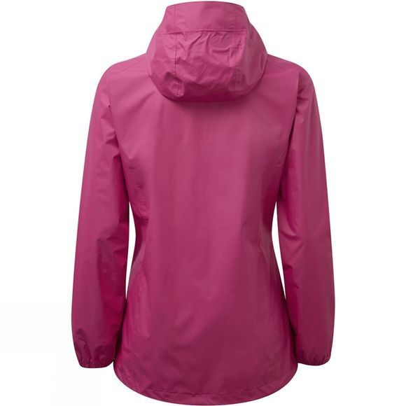 Berghaus Womens Deluge Light Jacket Pink Peacock
