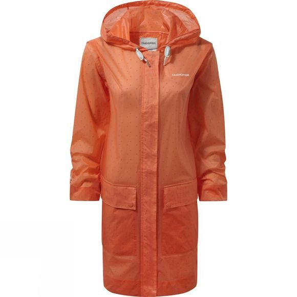 Craghoppers Womens Tulla Jacket Bright Papaya