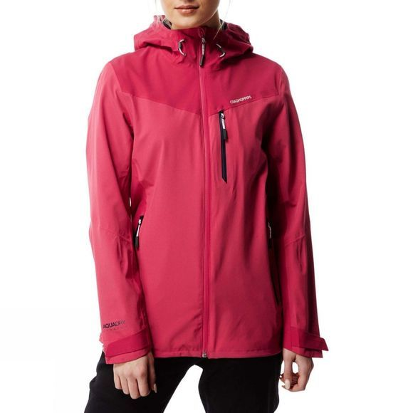 Craghoppers Womens Discovery Adventures Stretch Jacket Electric Pnk